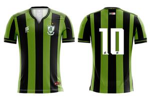 Uniforme 01 do América Mineiro para a temporada 2019.