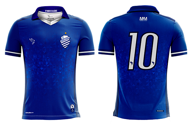 Uniforme 02 do CSA para a temporada 2019.