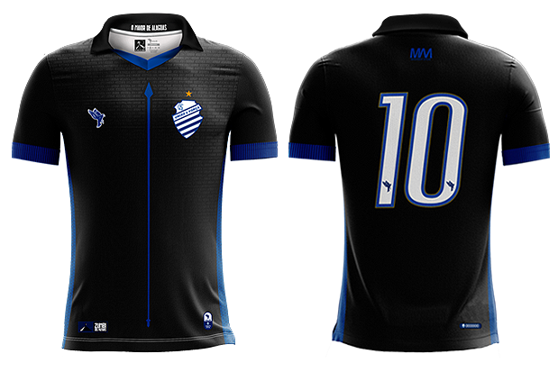 Uniforme 03 do CSA para a temporada 2019.