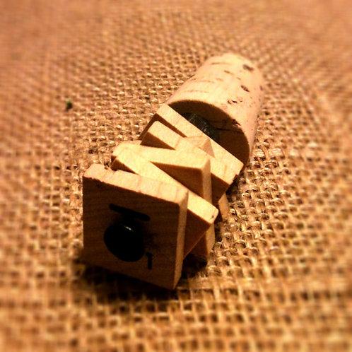 Scrabble Tiles Wine Stopper