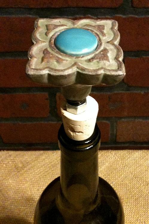 Stone Flower Wine Stopper