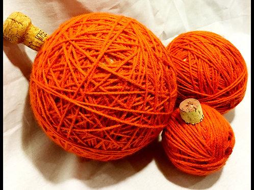Orange Twine Pumpkin (assorted sizes)