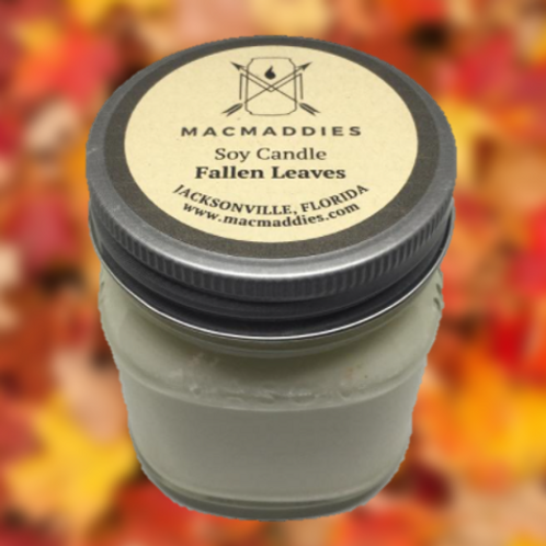Fallen Leaves Candle