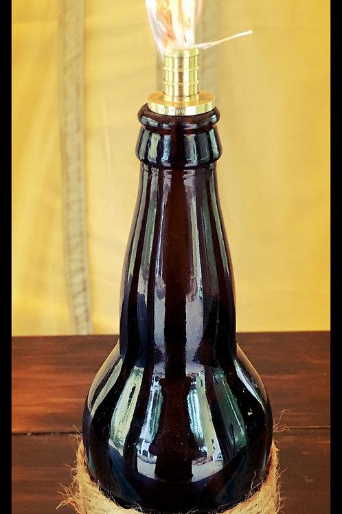 Beer Bottle Tiki Torch