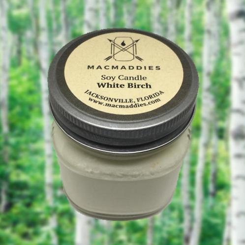 White Birch Candle