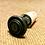 Thumbnail: Antique Pewter Knob Wine Stopper