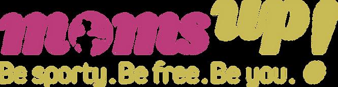moms up! Logo Fitness für Mütter