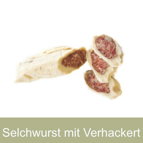 Selchwurst mit Verhackert