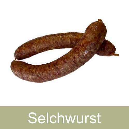 Selchwurst gekocht