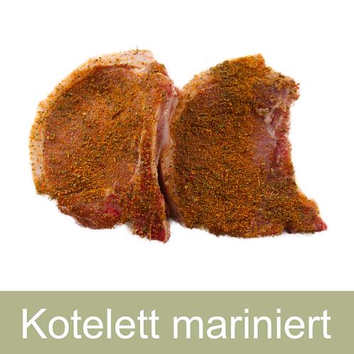 Kotelett mariniert