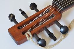 Mahogany Six String Gourd-tar