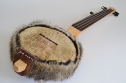 Grant Family Groundhog Gourd Banjo