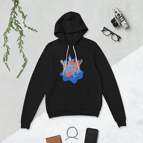 BNY Graffiti Hoodie Pullover