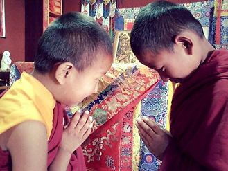 Namaste, I bow to you.