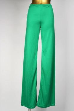 Kelly-Green-Silk-Jersey-Pants-Sweatshop-
