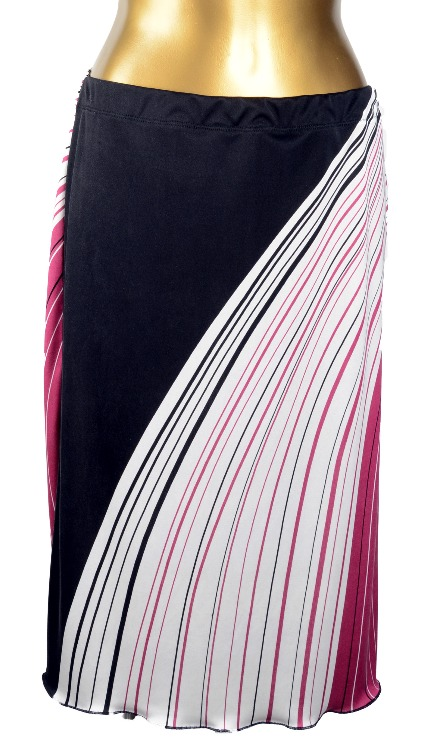 Embolden Silk Jersey Skirt
