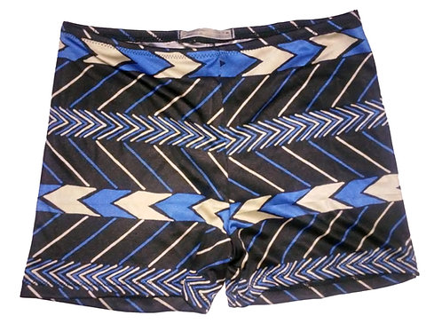 Chevron Silk Boyshorts