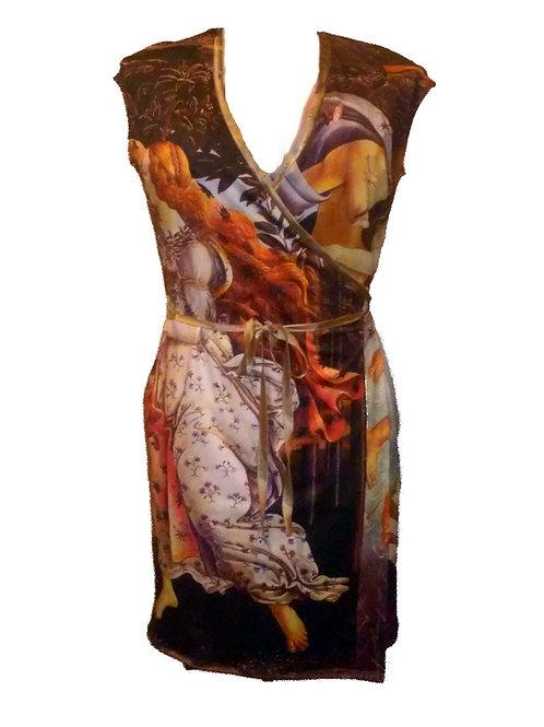 Birth of Venus Wrap Dress