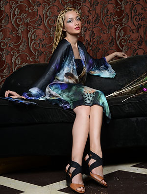 Fall 2014 Lavender Dress