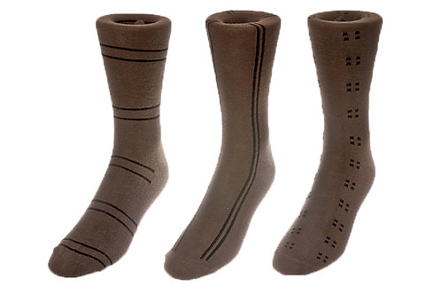 Olive Drab Intersection Socks