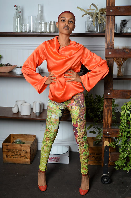Systemic Stretch Cotton Leggings