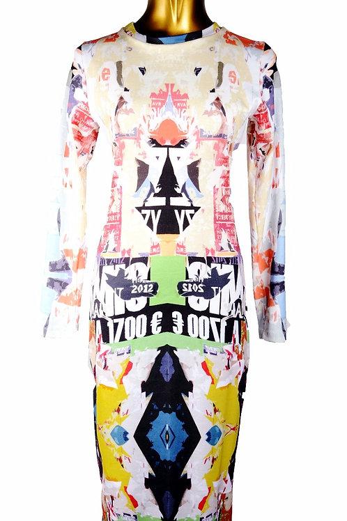 Austin Graphic Organic Cotton Dress