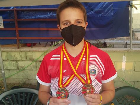 Varias medallas para los Sagittas en el Nacional