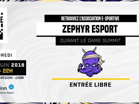 Zephyr au Game Summit !