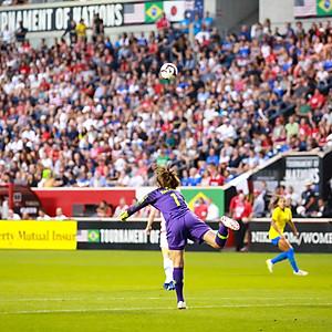 U.S. Womens National Team vs Brazil: Tournament of Nations