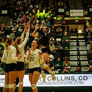 Colorado State Volleyball vs New Mexico