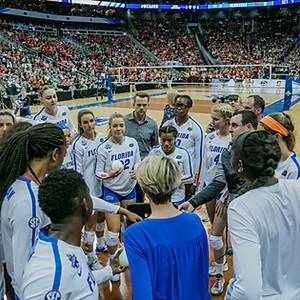 NCAA Women's Volleyball National Championship: Florida vs Nebraska
