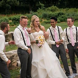 Leesa and Leroy's wedding