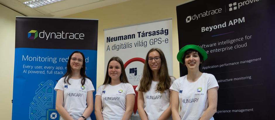 4 magyar középiskolás mindenkinek megmutatta, hogy igenis van helyük a lányoknak az informatikában -