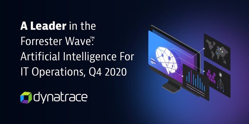 Dynatrace named a leader in Artificial Intelligence for IT Operations (AIOps) report by Forrester