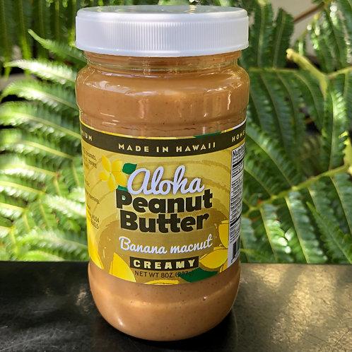Banana MacNut Peanut Butter