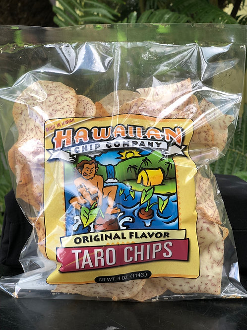 Original Flavor Taro Chips - Small 4.oz