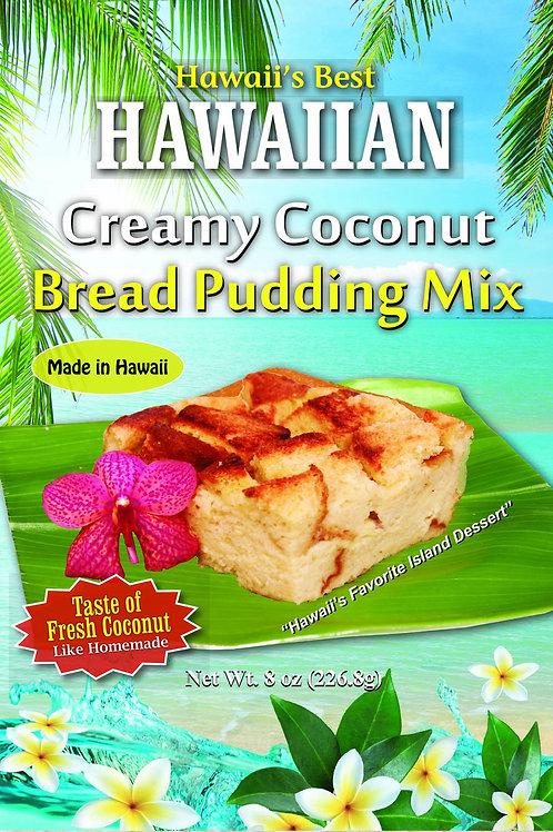 HAWAIIAN CREAMY COCONUT BREAD PUDDING MIX