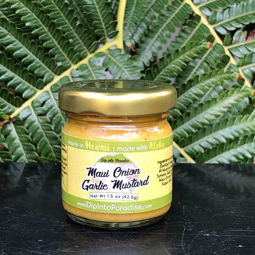 Mini Maui Onion Garlic Mustard