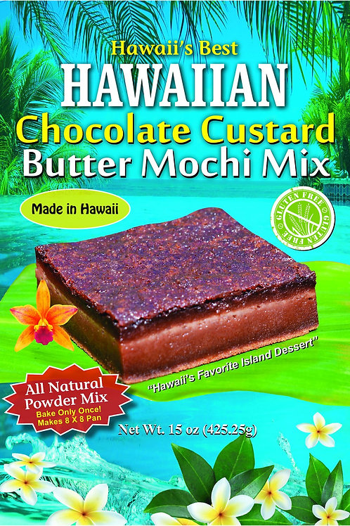 HAWAIIAN CHOCOLATE CUSTARD BUTTER MOCHI MIX