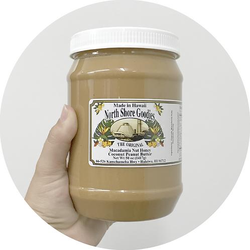Macadamia Nut Honey Coconut Peanut Butter - Large