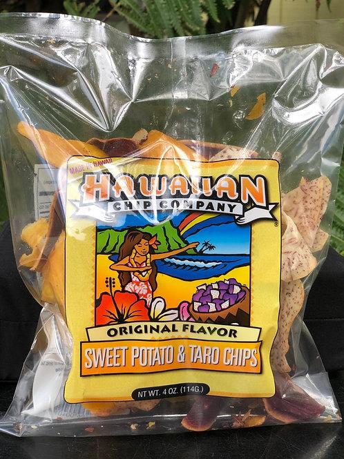 Sweet Potato & Taro Chip Mix - Small 4.oz