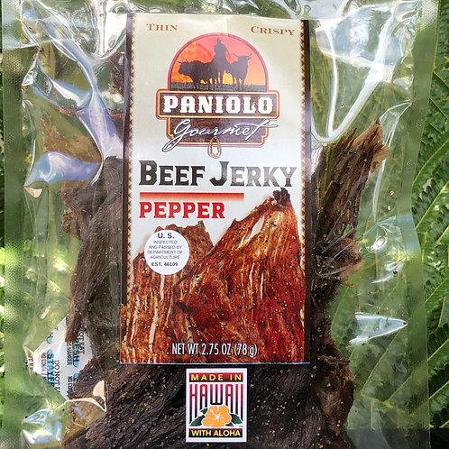 Thin & Crispy Pepper Beef Jerky