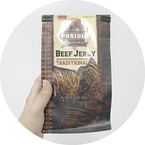 Thick & Crispy Traditional Beef Jerky