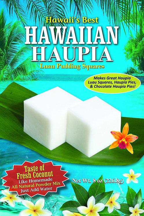 HAWAIIAN HAUPIA LUAU PUDDING SQUARES