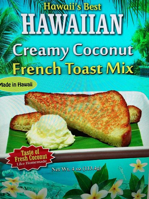 HAWAIIAN CREAMY COCONUT FRENCH TOAST MIX