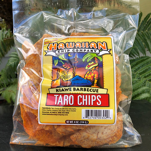 Kiawe Barbecue Taro Chips - Small 4.oz