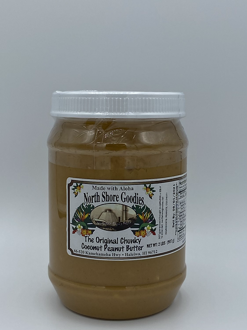 Coconut Peanut Butter - Chunky 32oz