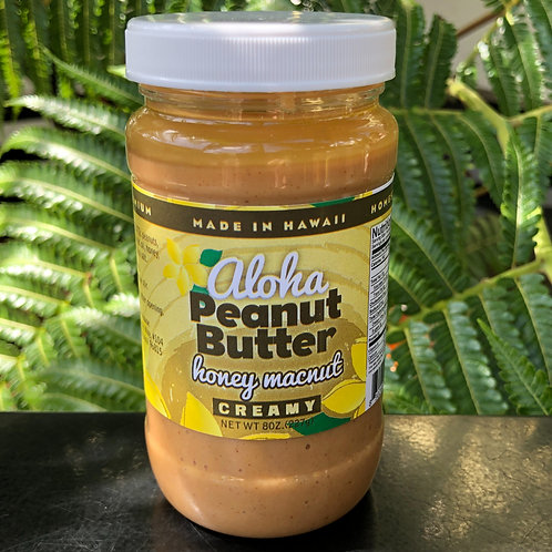 Honey MacNut Peanut Butter