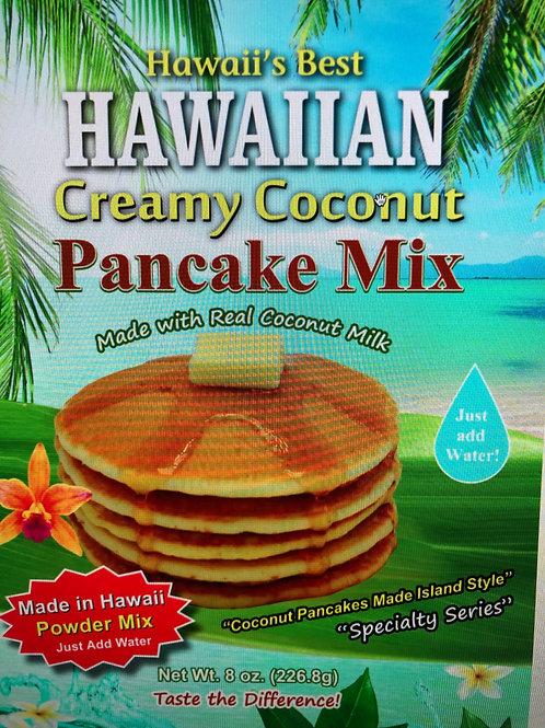HAWAIIAN CREAMY COCONUT PANCAKE MIX