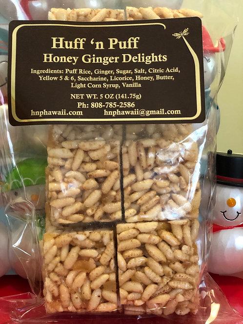 Huff 'n Puff Honey Ginger Delights